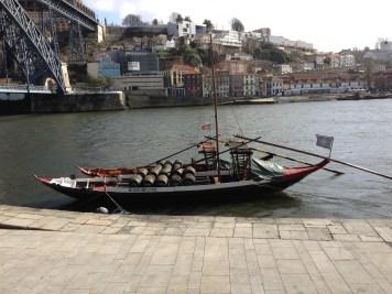 river boat in Porto
