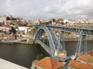 the bridge we crossed in Porto