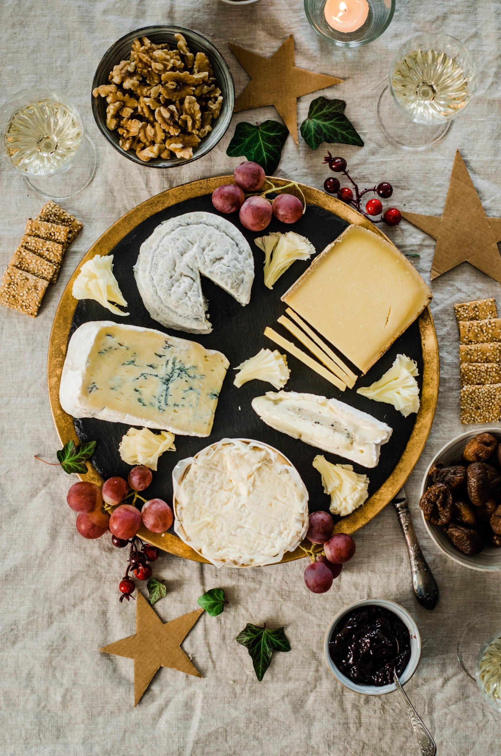 plateau de fromages parfait pour noel