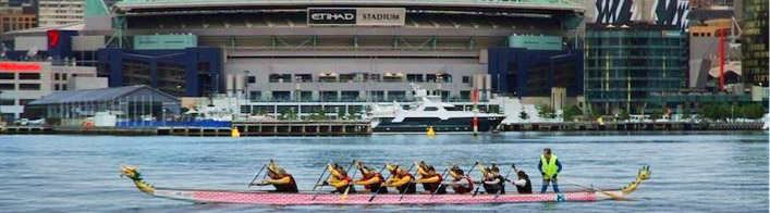 Dragon Boat Racing in Melbourne