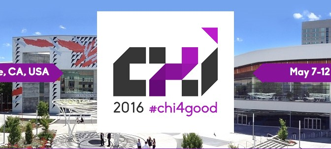 Rocking Chair paper accepted for CHI 2016