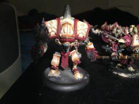 Painting Menoth Warjack