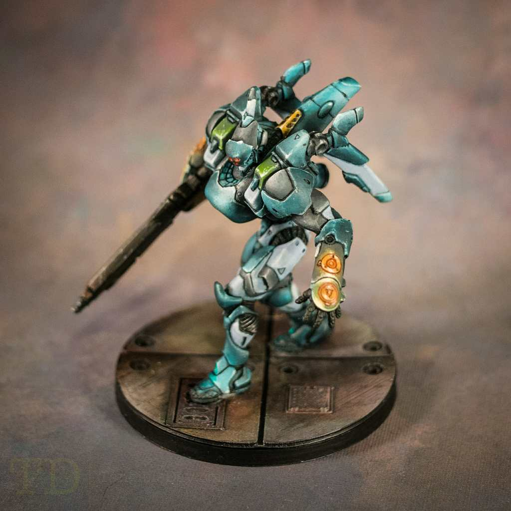 Infinity the Game TAG miniatures (Panoceania Faction) - Corvus Belli