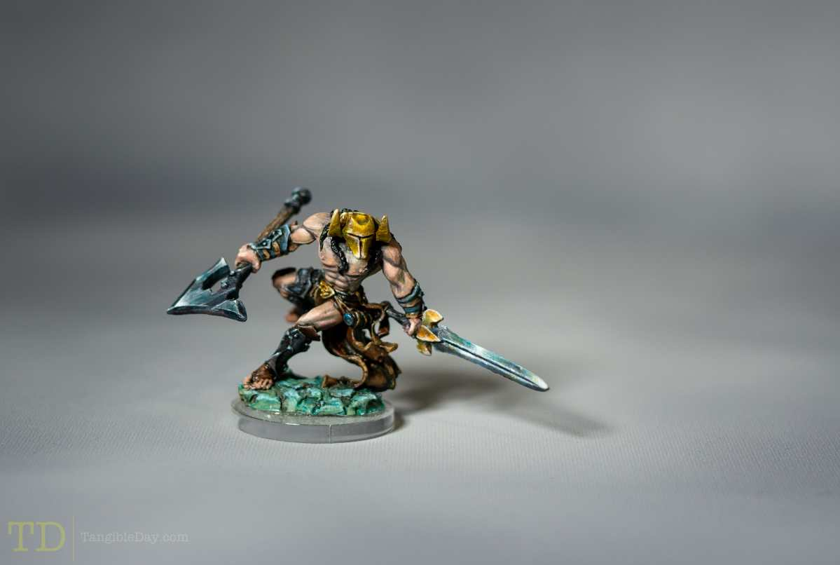 Painting Showcase Ilkhan the Bloody by Reaper Miniatures: Do I Sell?
