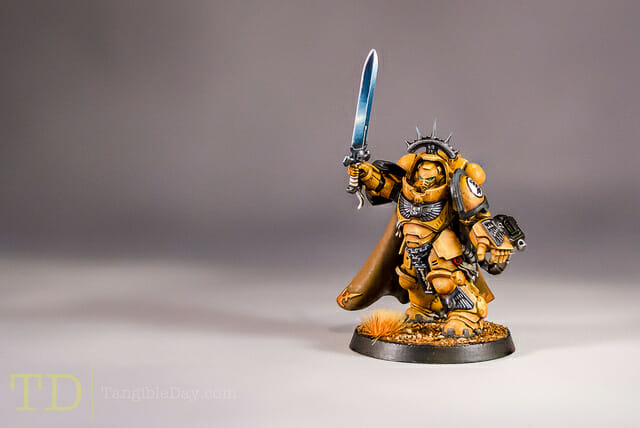 Primaris Captain Imperial Fist Space Marine