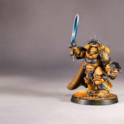 Primaris Captain Imperial Fist Space Marine