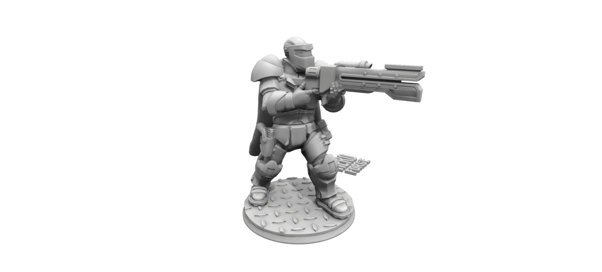 Hero Forge: Unboxing Custom 3D Printed Miniatures (Close-Up Photos) - Premium Plastics