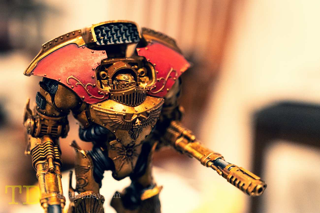 Retributor Armour: Best Gold Metallic Ever? [Quick Review]