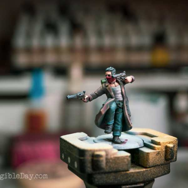Painting a Gun Mage: HeroForge 3D Printed Miniature (Quick Overview)