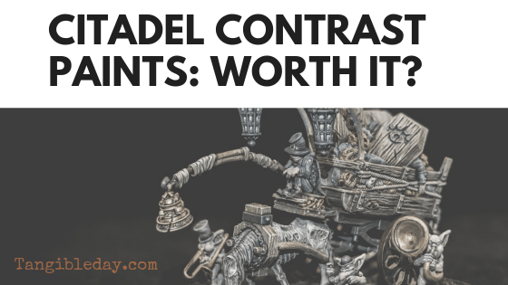 Citadel Contrast Paints: Worth It? (Contrast Paint Review)