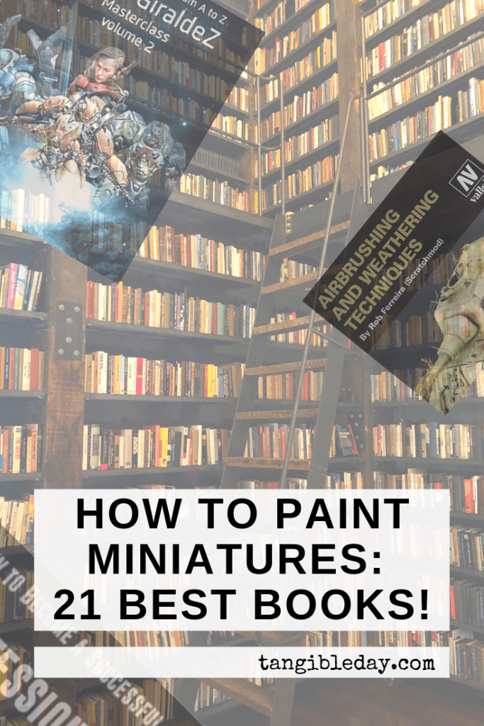 21 Great How-To Books for Painting Miniatures in 2020! (So Far) - front image