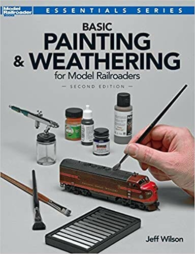 21 Great How-To Books for Painting Miniatures in 2020! (So Far) - basic painting and weathering for model railroaders