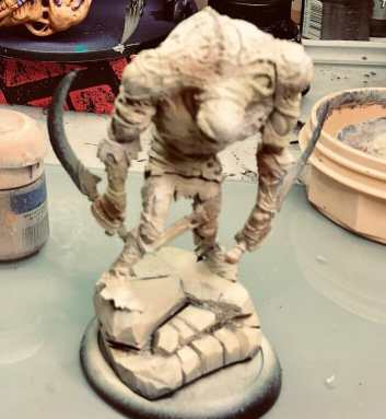 Grymkin: Skin & Moans Warbeast (How to Paint)