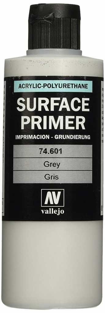 Top 10 Primers for Plastic and Metal Miniatures (Reviews and Tips) - acrylic sandwich - best primer for plastic models - best brush on primers for metal miniatures and models - best spray primer for models - Vallejo surface primer for models and wargaming miniatures