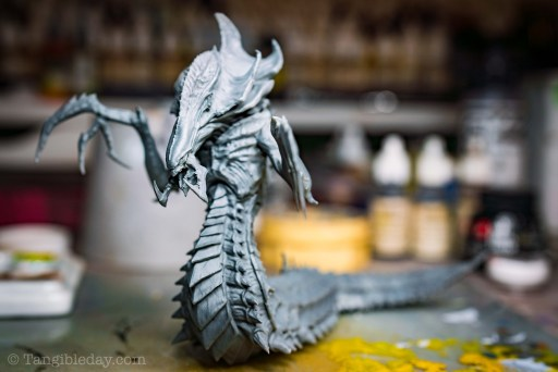 How to smooth 3D prints without sanding - PLA 3D print smoothing without primer filler sanding - how to get rid of 3D print lines - Smoothing PLA 3D Prints: How to Smooth 3D Printed Miniatures - resin 3d printing hydralisk