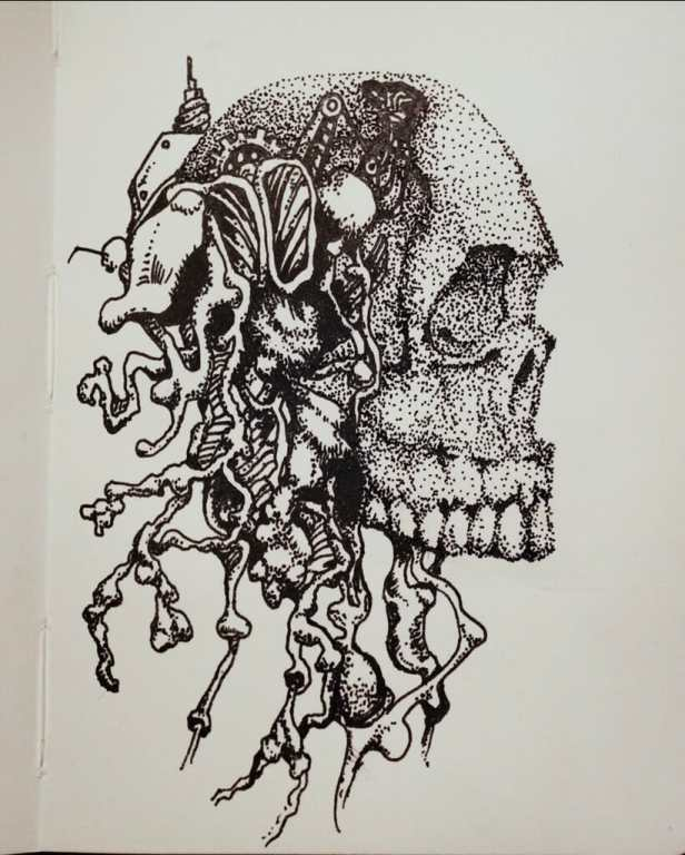 """""""Drawing"""" Me Out of My Skull"""