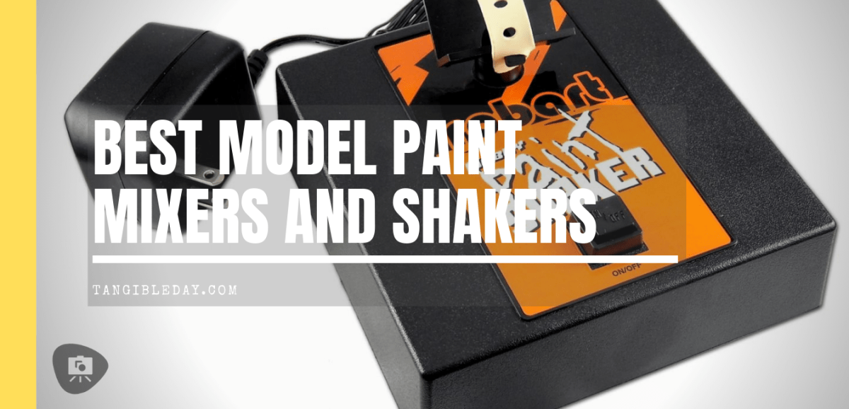 5 Useful Paint Mixers and Shakers for Miniature and Model Paint (Review)