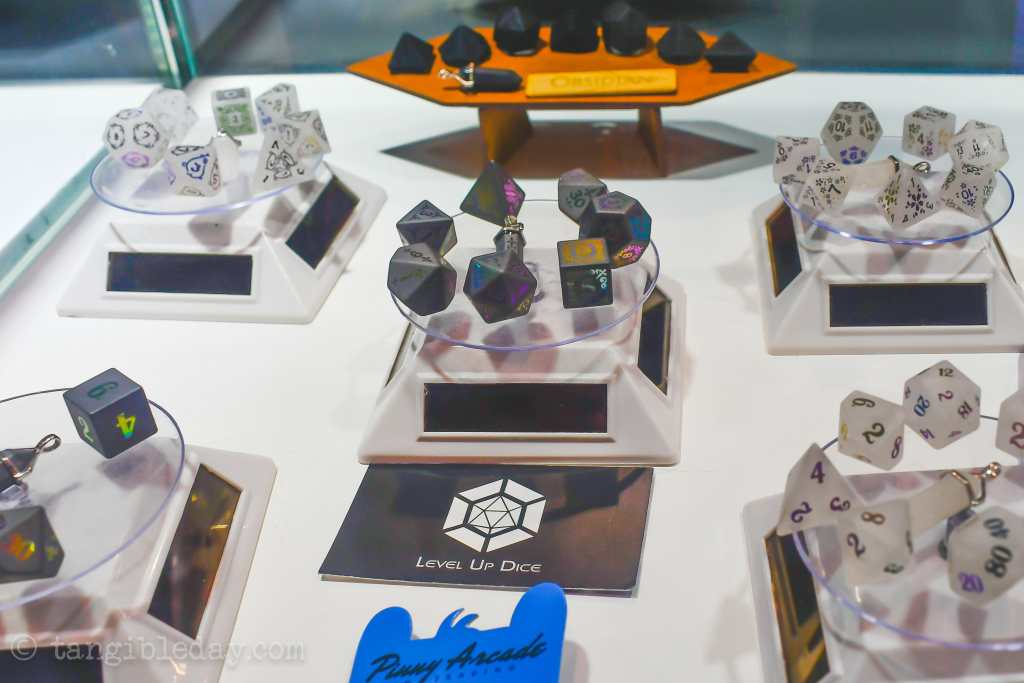 7 Cool Tabletop Gaming Products Showcased at Pax Unplugged - Unique RPG gaming swag and accessories - Level Up Dice for games Caged Aluminum Dice (Bespoke Gaming) - dnd accessories - dungeons and dragons tabletop roleplaying