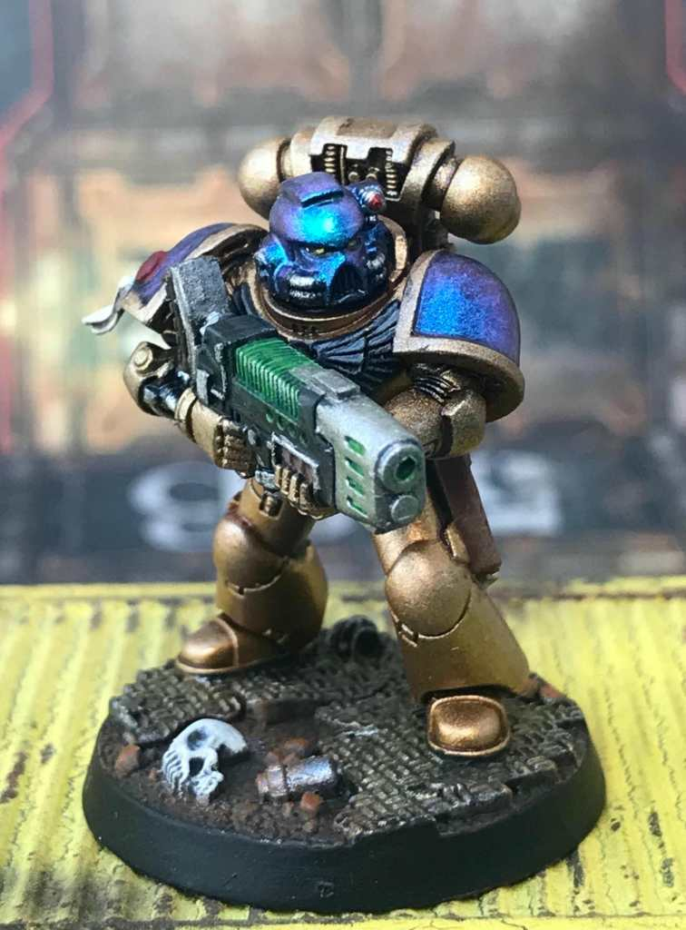 Space marine color shift paint - best metallic paints for miniatures and models - Recommended metallics for painting minis