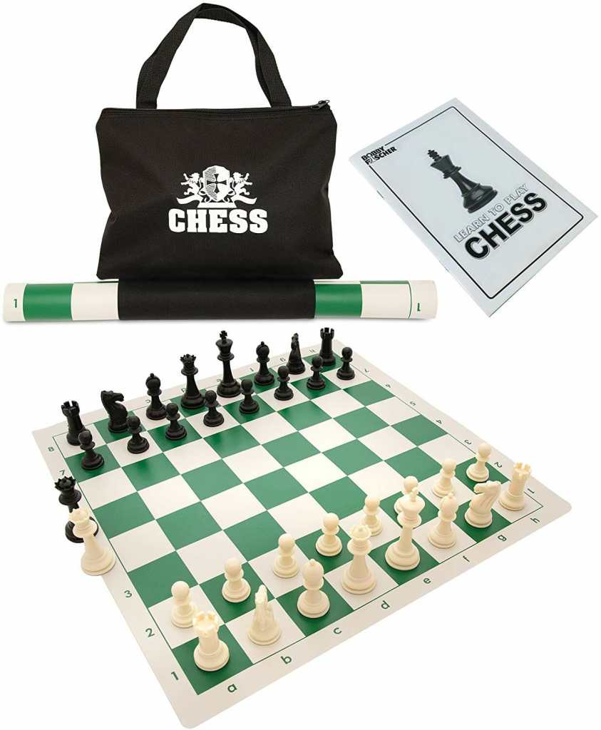 "Chess: A ""Gateway Drug"" into Miniature Wargaming? - Best starter chess sets - travel and portable roll up chess set"
