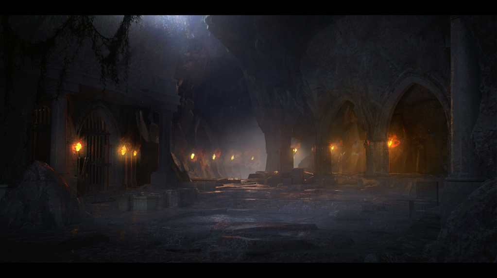 Ambient lighting guide for tabletop games - How to add ambient lights to your next dungeon and dragon campaign event - event lighting for rpgs and gaming - cavern dwelling