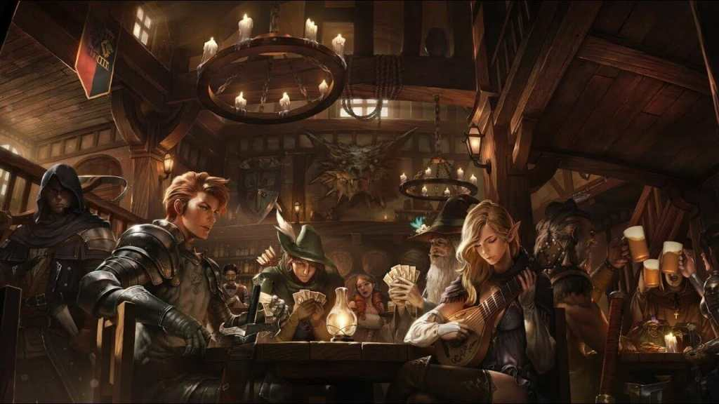 Ambient lighting guide for tabletop games - how to add immersive lighting and sound to your dnd session - lighting game room ideas - immerse music and sound and light for rpgs - inn and tavern atmosphere