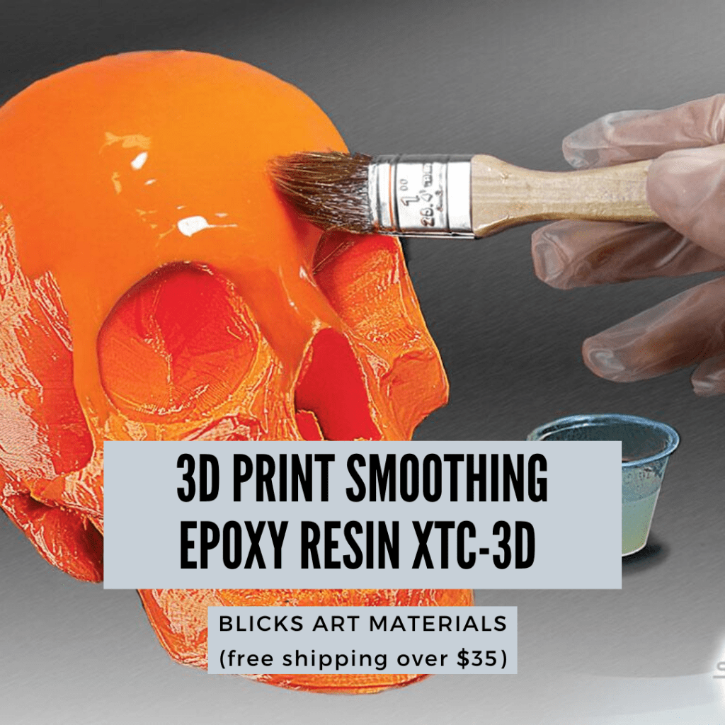 How to smooth 3D prints without sanding - PLA 3D print smoothing without primer filler sanding - how to get rid of 3D print lines - Smoothing PLA 3D Prints: How to Smooth 3D Printed Miniatures - epoxy resin XTC-3D