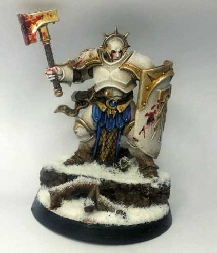 Stormcast Eternal Paint Schemes - 9 Color Motifs - how to paint stormcast eternals - color schemes for stormcast eternals, liberators, celestants, and other Age of Sigmar models from the Stormcast Eternal range - 9 color schemes for Stormcast Eternal models and miniatures from Citadel Games Workshop - warm shaded white armor