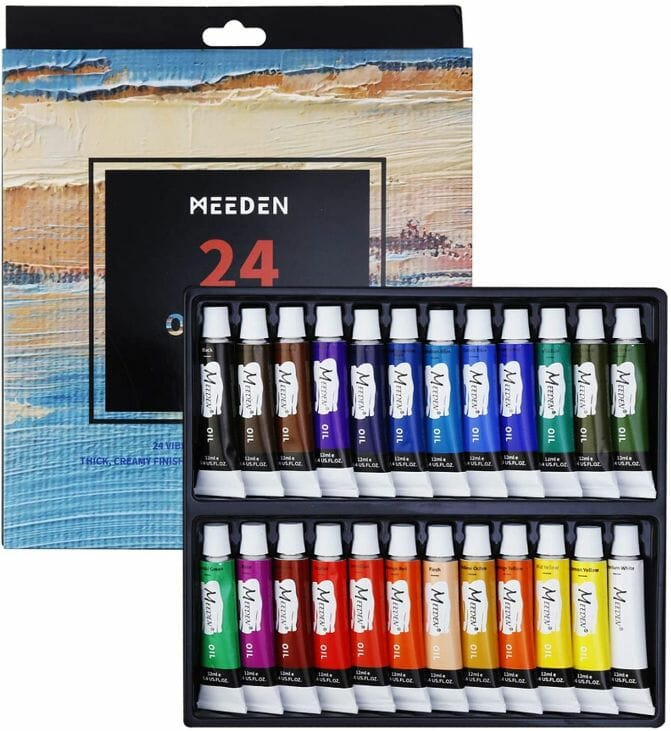 MEEDEN-Oil-Paint-Set
