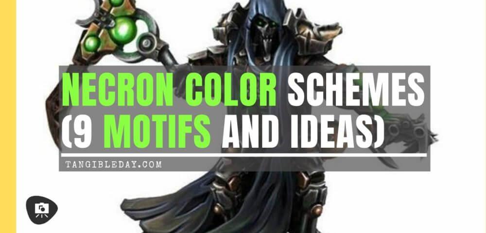 Necron Paint Schemes (9 Color Motifs and Ideas)