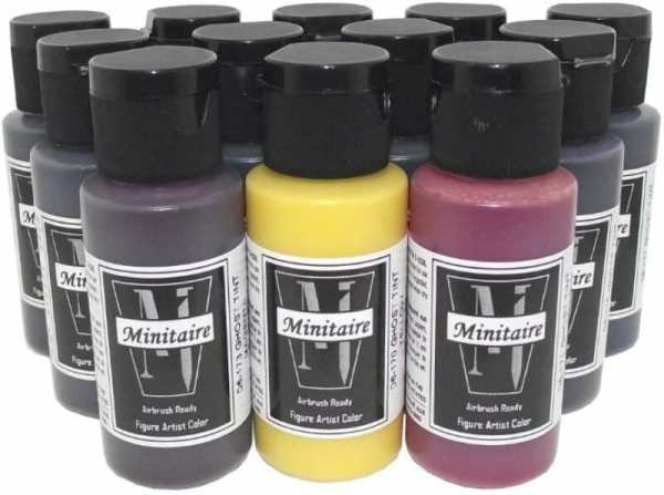 Best 15 inks for painting miniatures and models - citadel wash set - best inks for miniature painting - best inks for models - how to use inks on miniatures - inks for painting miniatures - Badger Ghost Tints review