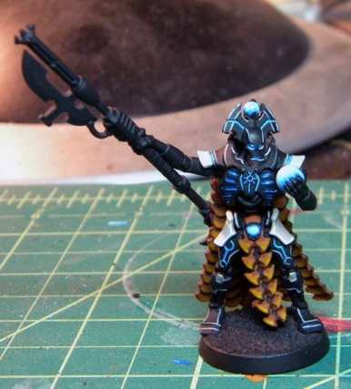 Necron Paint Schemes - 9 Color Motifs - how to paint Necrons - color schemes for Necrons, Necron Warriors, Sautekh or Zathanor Dynasty, and Necron dynasties - Indomitus Warhammer 40k Necron range color palette - 9 color schemes for Necron models and miniatures from Citadel Games Workshop - black blue glow