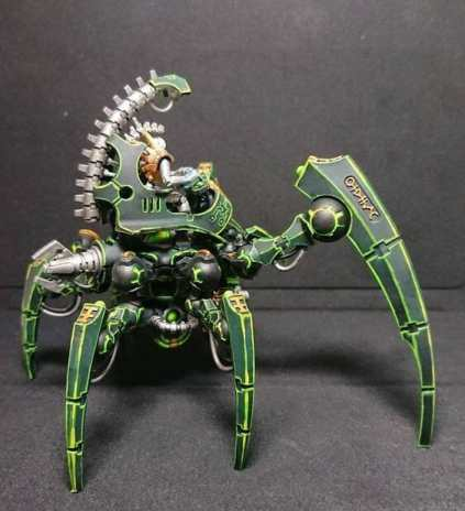 Necron Paint Schemes - 9 Color Motifs - how to paint Necrons - color schemes for Necrons, Necron Warriors, Sautekh or Zathanor Dynasty, and Necron dynasties - Indomitus Warhammer 40k Necron range color palette - 9 color schemes for Necron models and miniatures from Citadel Games Workshop - green higlights