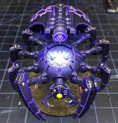 Necron Paint Schemes - 9 Color Motifs - how to paint Necrons - color schemes for Necrons, Necron Warriors, Sautekh or Zathanor Dynasty, and Necron dynasties - Indomitus Warhammer 40k Necron range color palette - 9 color schemes for Necron models and miniatures from Citadel Games Workshop - purple machine