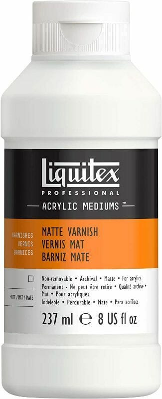 Liquitex matt varnish