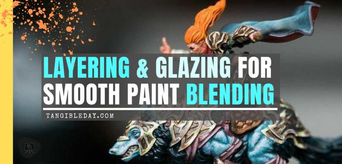 Layering and Glazing for Non-Metallic Metal (NMM) Blending