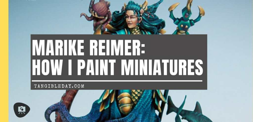 How to paint miniatures competitively – how to paint for competition – painting contest – how to win a painting contest – Marike Reimer miniature painting – interview with Marike Reimer about the Kraken Mistress – how to paint miniatures like a pro – how to paint miniatures professionally – best miniature painting tutorials – banner