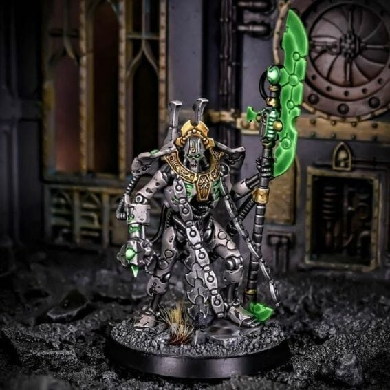 How to paint necrons simple easy fast - tutorial for painting necrons - necron paint schemes - necron color scheme - green dark grimdark color scheme - how do you all paint necrons how do you paint new necrons are necrons easy to paint - new necrons