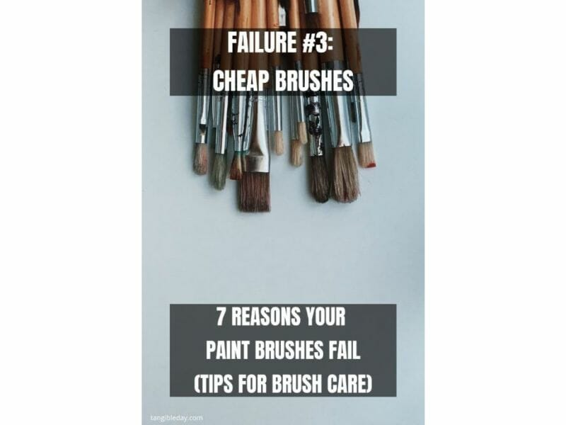 7 Reasons why brushes for miniature painting fall apart - reasons for paintbrush failure - ways to take care of your paint brushes - miniature paint brush care and maintenance - tips for brush care for modelers and hobbyists - paintbrush cleaning tips and care - use good quality brushes for longer working life