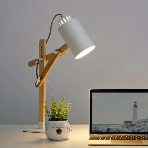 15 Cool Office Lamps for Any Workspace – cool desk lamps – cool lamps – office lamp ideas – unique desk lamps – best lamps for office work – unique office lamp - minimalist lamp