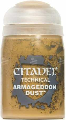 Best 26 Citadel Paints for Your Model Paint Collection – most useful model paints – best acrylic paints for new painters – best citadel paint set – best citadel paint – versatile model paint – games workshop paint sets - Armageddon Dust