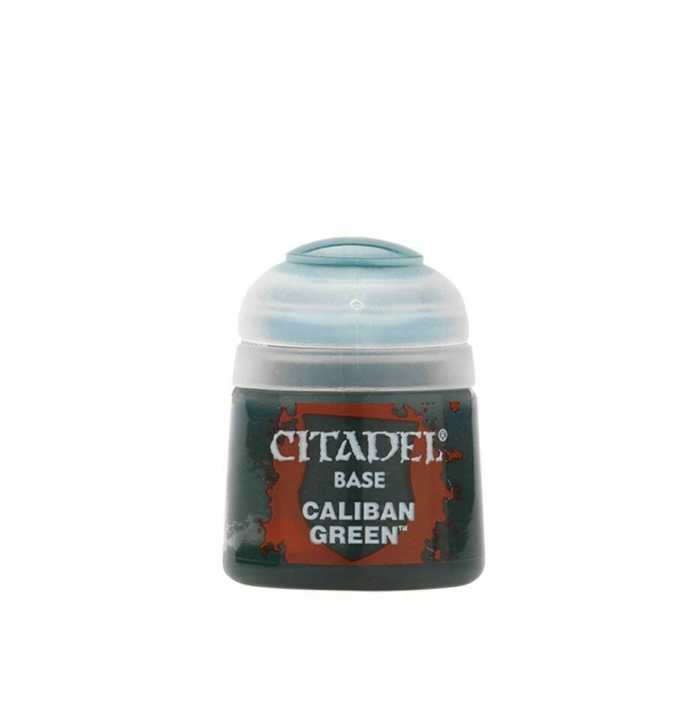Best 26 Citadel Paints for Your Model Paint Collection – most useful model paints – best acrylic paints for new painters – best citadel paint set – best citadel paint – versatile model paint – games workshop paint sets - Caliban Green