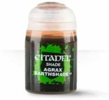 Best 26 Citadel Paints for Your Model Paint Collection – most useful model paints – best acrylic paints for new painters – best citadel paint set – best citadel paint – versatile model paint – games workshop paint sets - Agrax Earthshade