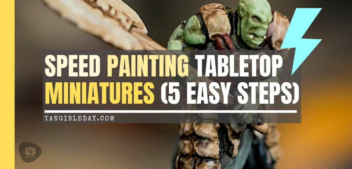 Miniature Speed Painting RPG Models (5 Steps and Tips)