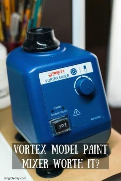 Vortex model paint mixer review - Four E's scientific laboratory vortex mixer - vortexer review for miniature paint - how to use a model paint vortex mixer - tips and review for vortex mixers for miniature and model paint - guide tips for vortex mixing model paint - is a mini vortex mixer for hobby paint worth it?