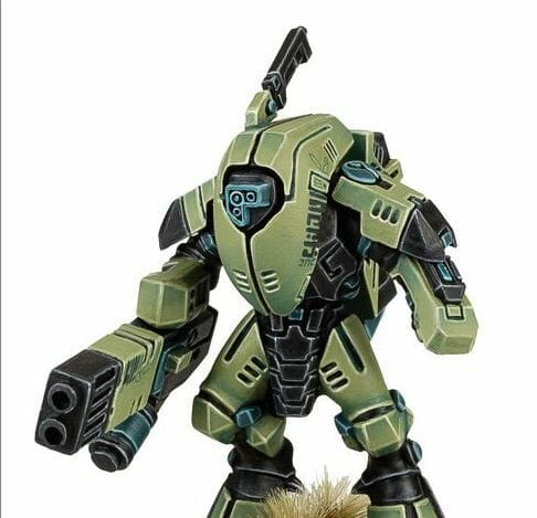 Tau sept color schemes, caste color schemes for Tau, T'au paint color scheme ideas – Grimdark Tau style, Blachitsu Tau painting, how to paint Tau miniatures, Games Workshop Tau paint schemes – How to paint grimdark Tau – painting Blanchitsu Tau - clean matte green