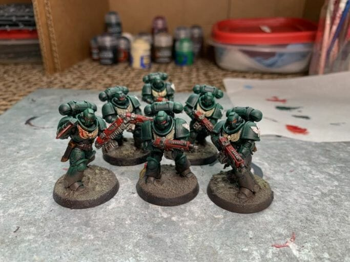 Is Warhammer 40K Worth It? Why You Need to Play Warhammer 40k - Is Warhammer 40k expensive? - Should I start playing warhammer 40000 - why you should play WH40k - dark angel primaris space marines battle ready painted