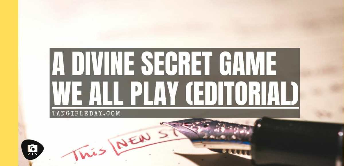 Just Thinking: The Secret Game We All Play - secret games - why we need rules for enjoy games and life - banner