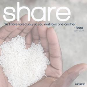 Share-As I have loved you, love one another