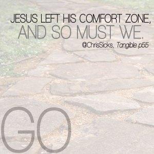 Jesus-Left-Comfort-Zone